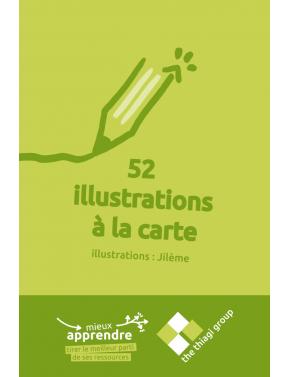 52 illustrations à la carte